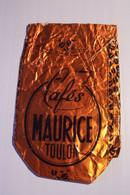"""TOULON  - CAFES  -  """" MAURICE  """" - Pubblicitari"""