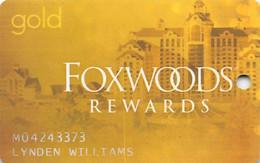 Foxwoods Casino Ledyard, CT - Slot Card - Casinokaarten