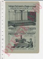 Publicité Pesage Hoffmann Usines La Mulatière-Lyon Jarville Pressoir Marmonier Société Lyonnaise Meunerie Boulangerie8AN - Unclassified