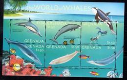 Grenada 2001 Fauna  Marine Life Whales - Grenada (1974-...)