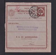 1928 - 8 F. Ganzsache Gebraucht Ab PECS - Lettere