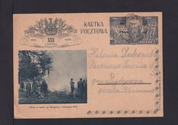 15 Gr. Bild-Ganzsache Oboz W Lesie Na Wolyniu - Gebraucht Im Inland - Covers & Documents