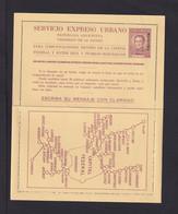 70 C. Express-Ganzsache Mit Aufdruck MUESTRA - Ungebraucht - Postal Stationery