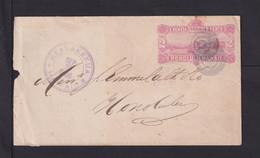 1886 - 2 C. Ganzsache Ab KEALAKEKUA Nach Honolulu - Hawaii
