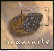 Grenada 2001 Mineral ,  Uraninite - Grenada (1974-...)