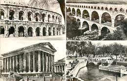 CPSM Nîmes-Multivues-Timbre        L803 - Nîmes