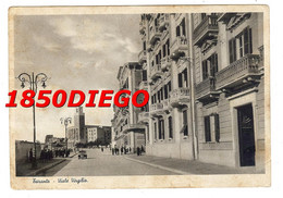 TARANTO - VIALE VIRGILIO  F/GRANDE VIAGGIATA 1941 ANIMAZIONE - Taranto
