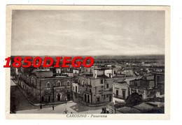 CAROSINO - PANORAMA F/GRANDE VIAGGIATA 1957 ANIMAZIONE - Taranto