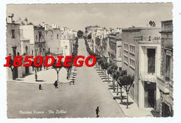 MARTINA FRANCA - VIA BELLINI  F/GRANDE VIAGGIATA 1954 ANIMAZIONE - Taranto