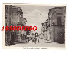 MONTEMESOLA - VIA ROMA F/GRANDE VIAGGIATA 1959 ANIMAZIONE - Taranto