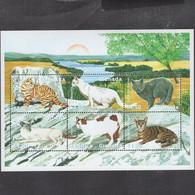 Grenada 2000 Fauna Cats - Grenada (1974-...)