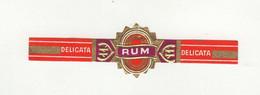 BAGUES DE CIGARES  1 EX.  DELICATA  RUM - Cigar Bands