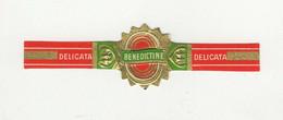 BAGUES DE CIGARES  1 EX.  DELICATA  BENEDICTINE - Cigar Bands