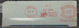 Deutsches Reich Briefstück Mit Freistempel Elbingen Württenberg 1930 Reinhold Haus Seit 1896 Spezialität MACO - Machine Stamps (ATM)