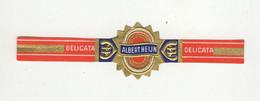 BAGUES DE CIGARES  1 EX.  DELICATA  ALBERT HEIJN - Cigar Bands