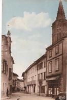 """MONTRICOUX - 3 CARTES -"""" La Place Et La Grand Rue - Le Moulin Et La Chaussée -vue Génèrale """" - Autres Communes"""