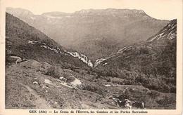 CPA AIN (01)  -   GEX   -  Le Creux De L'Envers, Les Combes Et Portes Sarrasines - Gex