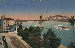 Bonn Rheinbricke  WWII Passed By Censor Censure  US Army Post Office - Bonn