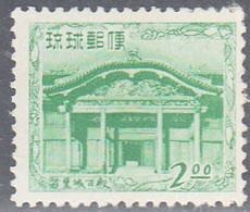 RYUKYU ISL.   SCOTT  20  MNH    YEAR  1952 - Ryukyu Islands