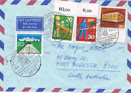 41280. Carta Aerea GOSSWEINSTEIN (Alemania) 1970. Tema EUROPA - Covers & Documents