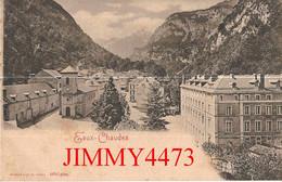 CPA - EAUX CHAUDES - Vue Générale ( Laruns 64 Pyrénées Atlantiques ) N° 10757 - Edit. R. & J. D. - Laruns