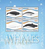 Grenada 2015 Fauna Marine Life  Whales - Grenada (1974-...)