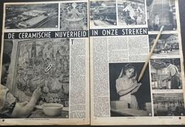 HEMIXEM..1948.. DE CERAMISCHE NIJVERHEID IN ONZE STREKEN /50 JARIG BESTAAN N.V. G. GILLIOT & CO - Unclassified
