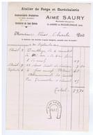 AUDE - ST-ANDRE-de-ROQUELONGUE - Aimé SAURY - Atelier De Forge - Serrurerie - Maréchal - Forgeron Etc... - 1900 – 1949