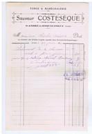 AUDE - ST-ANDRE-de-ROQUELONGUE - Sauveur COSTESEQUE - Forge & Maréchalerie - 1900 – 1949