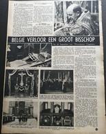 BELGIË VERLOOR EEN GROOT BISSCHOP MONSEIGNEUR COPPIETERS  ° OVERMEIRE 1874 + GENT 1947 /CRYPT  MARIAKERKE - Unclassified
