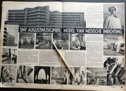 ELSDONCK- WILRIJK..1948.. SINT AUGUTINUSKLINIEK MODEL VAN MEDISCHE INRICHTING - Unclassified