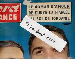 Extrait De Nord France :fiancée Du Roi De Jordanie Dunya Hussein Amman , Londres: 4 Pages, 6 Photos Format 25x32 - 1950 - Heute