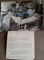 1953 Cambodge Roi Norodom Sihanouk Parachutiste Khmer Aéroportés  REI CEFEO BEP BCP BCCP RCP Vietminh Photo - Guerra, Militari
