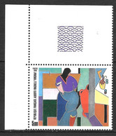 Année 1986 : Y. & T. N° 2414 C ** Avec Bord De Feuille Guillochée Et DOUBLE GALON à La MANCHE - Variétés: 1980-89 Neufs