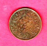 INDIA, 1877, 0,5 Anna,  C 808 - India
