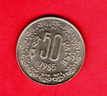 INDIA, 1985, 50 Paise, Copper Nickel, KM65, C 853 - India