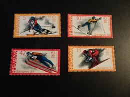 K48882 - Set   MNH Bulgaria   - 1984 -  - Olympics  Sarajevo - Winter 1984: Sarajevo