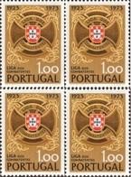"POR#2971-Block Of 4 MNH Stamps Of 1 Escudo - ""Cinquentenário Da Liga Combatentes"" - Portugal - 1973 - Blokken & Velletjes"