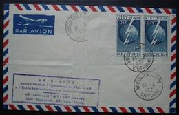 Viêt-Nam 1952 Saigon Philatélie Anniversaire De L'admission Du Viet-Nam à L Union Internationale Des Télécommunications - Vietnam