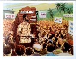 GRENADA 1980 1st Anniversary Of Revolution MINIATURE SHEET MNH - Grenada (1974-...)