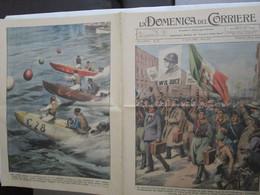# DOMENICA DEL CORRIERE N 15 / 1935  SFILATE DI RECLUTE CLASSE 1914 - Prime Edizioni