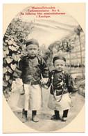 1910s TURKESTAN / CHINE Kaschgar Children Of Missionary Swedish Mission Station Postcard Cpa China No 6 Chinese Dress - Cina