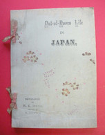 Livre Ancien Japon Broché RARE Out Of Doors Life In Japan Photographed By W.K.Burton Printed By K.Ogawa - Fotografía