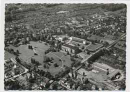 AK Um 1955 Luftbild Westen Oetkerhalle Max-Planck-Schule Bürgerpark Bielefeld - Bielefeld