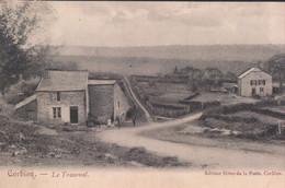 Corbion Le Transval (editeur Hôtel De La Poste Corbion ) Regio Bouillon (envoyé à Borgerhout ) - Bouillon