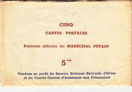 Maréchal PÉTAIN  Lot De 5 CP Neuve - Otros