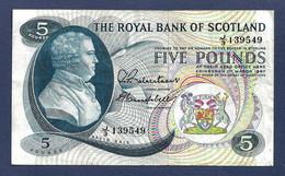 Scotland 5 Pounds 1967 P328 VF - 5 Pounds
