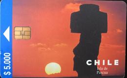 CHILI - Phonecard - CTC - Isla De Pascua - $ 5.000 - Cile