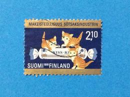 1991 FINLANDIA SUOMI FINLAND FRANCOBOLLO USATO STAMP INDUSTRIA 2,10 - Used Stamps