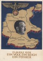 AK - WK II - Adolf Hitler - Propaganda - 1938 - Ein Volk Ein Reich Ein Führer - War 1939-45